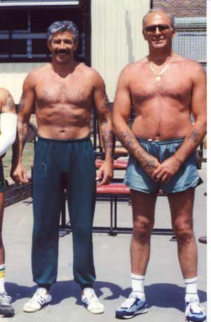 Graham Henry and Neddy Smith during their time in prison