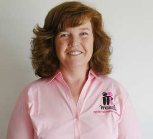 New breast cancer nurse for the Lachlan Shire, Dianne Green.