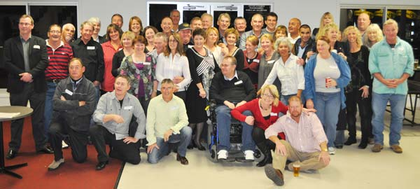 Condobolin High School year ten class of 1977 at the Railway Hotel last Saturday night. Contributed