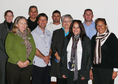 Education representatives and members of the Condobolin Aboriginal community