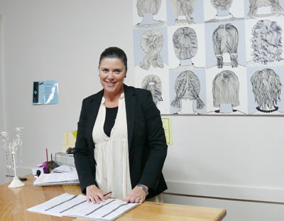 Annie Ryan has returned to Condobolin and to Leanne's Hairdressing Salon where her career began.