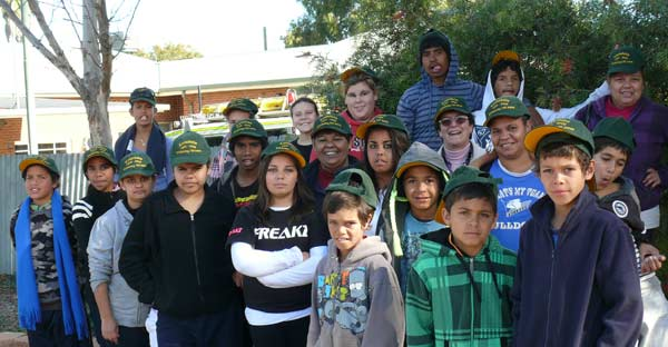 Condobolin students travelled to Sydney last Friday to meet the Penrith Panthers NRL team.