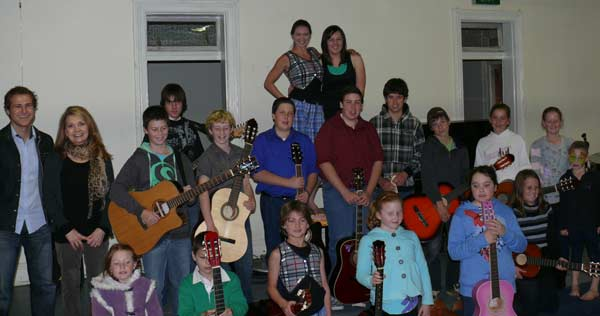 Condobolin's young talent was on display at the recent Cushion Concert.