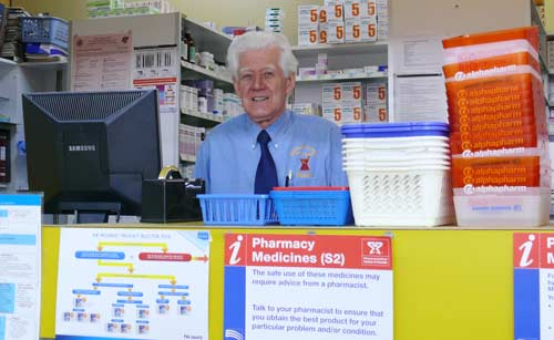 Michael Timmins will tell the story of his pharmacy to Australian Pharmacist magazine. DG