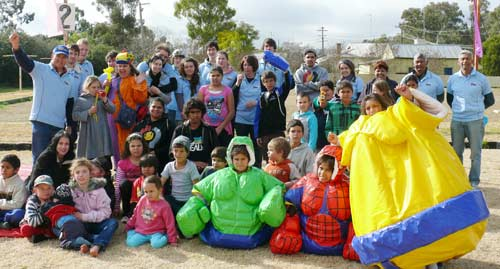 WPRD and STORMCO conducted a sports day to entertain Condobolin youth over the holidays.