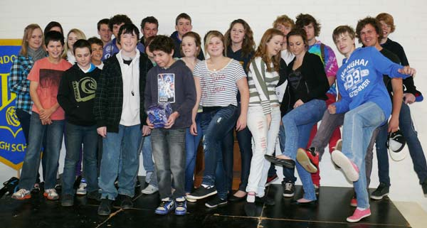 Condobolin High School students participated in Jeans for Genes day last week.
