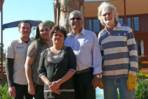 WCC project management team: Reginal Saddler, Rebecca Merritt, Donna Johnson, Neil Ingram and John Spencer. DG