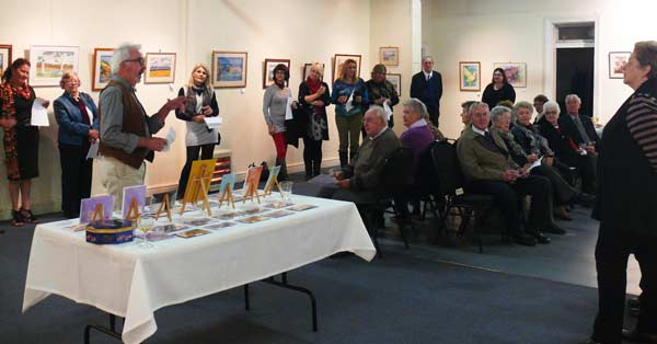 A culmination of a lifetime of painting was on display last weekend at the Community Centre, showcasing local artist Ann Tunks' later works.