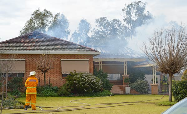 Three house fires in and around Condobolin in just two weeks have the police and fire brigade urging residents to be more vigilant with heaters, fireplaces and clothes dryers.