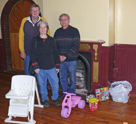 The new owners of the Imperial Hotel have arrived in Condobolin and are taking the old pub in hand.