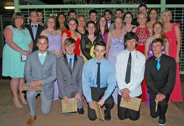 Condobolin High School's Year 12 graduating class finished their schooling journey last Thursday.