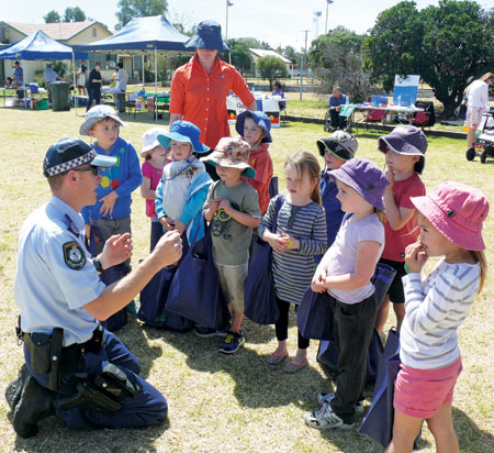 Fun and function combined at the Community and Service Expo last Friday, with local community organisations and Government service providers holding stalls on the old bowling greens on William Street, Condobolin.