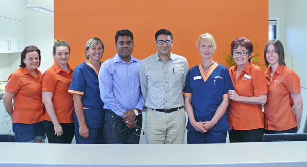 New doctor Rahul Mehan has had a warm reception at the Melrose Street Medical Centre, Condobolin.