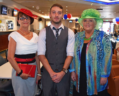 From feathered fascinators to suits and ties, the Melbourne Cup was celebrated in style around Condobolin yesterday.