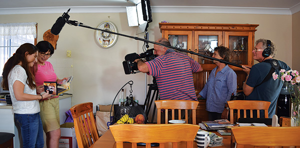 Condobolin Aboriginal Health Service (CAHS) doctor, Dr May El-Khoury, and her daughter Stafania Ruidiaz El-Khoury will soon be featuring in the national ABC news-documentary program, Compass.