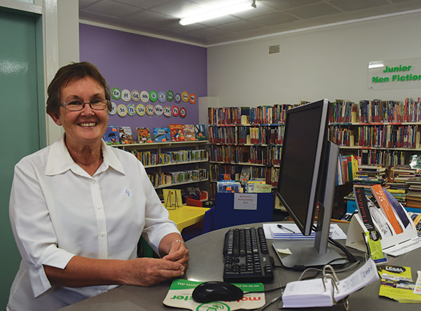 What started as a casual job while raising her children at home has turned into a lifelong vocation for local librarian Sharon Denyer.