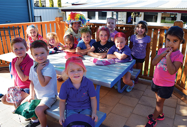 The children of Condobolin Preschool are showing that age is no barrier in helping to make a difference to those in need.