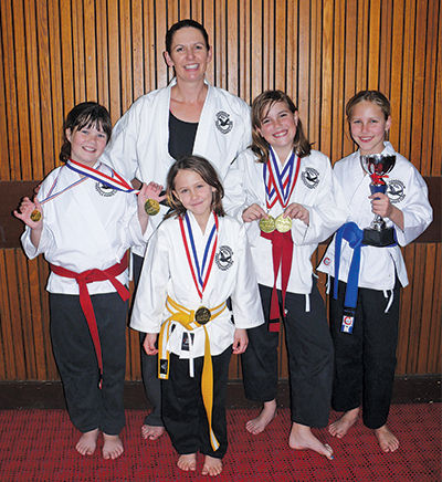 Seven of Condobolin's karate students competed at the AMAC Australian Martial Arts Championships in Dubbo on Sunday.