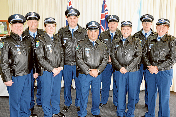Condobolin Police were recognised at the annual Lachlan Local Area Command Medal and Awards Presentation Ceremony.