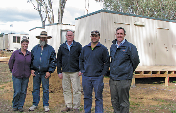 A partnership between Lachlan Shire Council (LSC) and KBL Mining has seen six new miner's cabins erected at the Riverview Caravan Park in Condobolin.