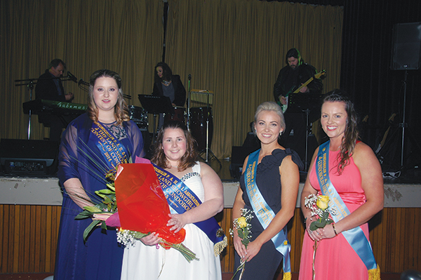 Guests sparkled at this year's annual Show Ball at the Condobolin RSL Club. Jaimi-Lea Deeves was announced as the 2015 Condobolin Showgirl.