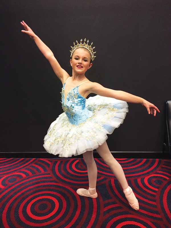 Condobolin's Chelsea May has only one dream - to be a professional dancer.